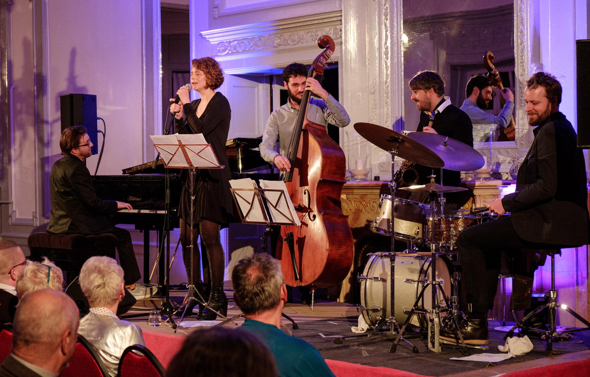 Anna Maria Sturm At Women In Jazz Ruediger Schestagde